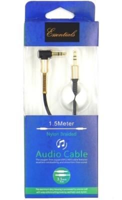Essentials EAUX15BLK AUX Cable(Black)