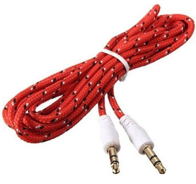 A Connect Z MAGIC-AUX-CBL-2-RED AUX Cable(Multicolor)