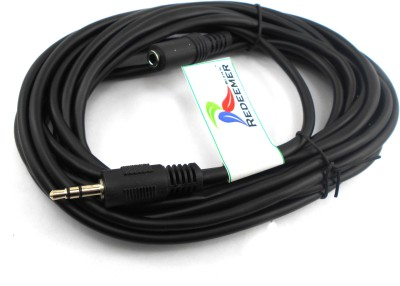 Redeemer High Quality 5 Meter 3.5mm Stereo Extension AUX Cable