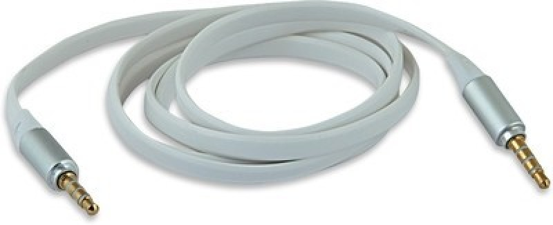 PHEONIXX 1 AUX Cable(White&Silver)