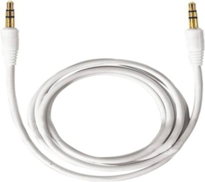 CallOne Turbo Stereo Audio 3.5mm AUX Cable(White)