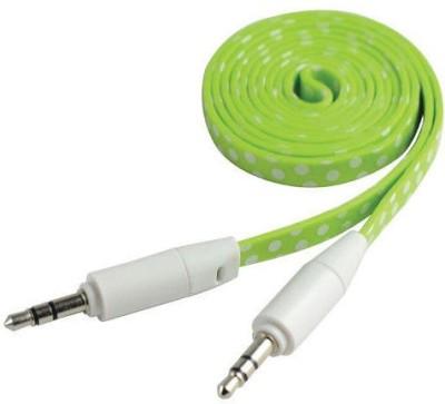 Cliptec OCC233GR AUX Cable(Green)