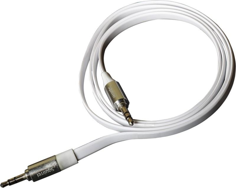 Squirrel C-3.5 AUX Cable(White)