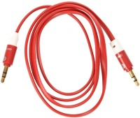 Griffin red aux cable USB Adapter(Red)