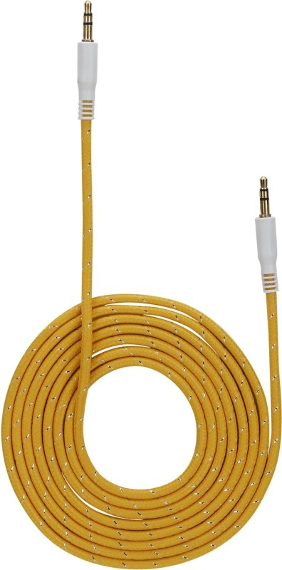 Orbatt ORT-AUX-CABLE-YLW AUX Cable(Yellow)