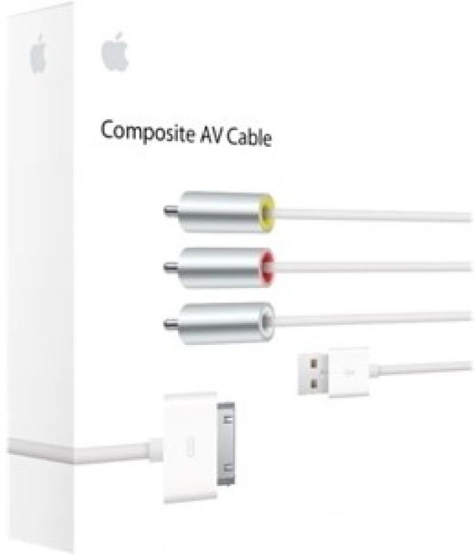 Apple MC748ZM/A Composite AV Cable
