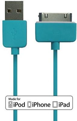 Plug & Go! IPH4/I-BLUE Sync & Charge Cable