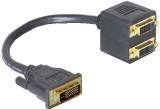Jinali JD08 1 DVI 24+5 MALE TO 2 DVI 24+...