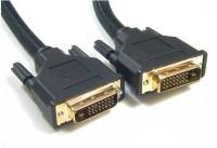 Speed DVI Male To DVI Male 5 Mtr DVI Cable(Black)