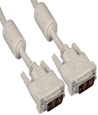 Jinali DVI Male To DVI Male Cable 1.5 Mtr DVI Cable