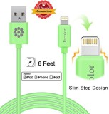 Fcolor FC4832 Lightning Cable (Green)