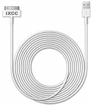 IXCC i-cable-ipad-10ft-white-01 Sync & Charge Cable