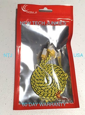 New Tech Junkies 3216260 Sync & Charge Cable