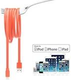 Jujeo I4S-7189B Lightning Cable (Orange)