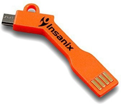 Insanix MicroUSBOrange Sync & Charge Cable