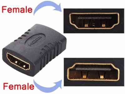 Generix HDMI Female to Female Gender Changer Connector HDMI Cable