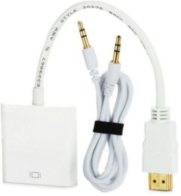 Microware HDMI Male to VGA Female with Sound HDMI Cable