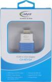 Cadyce CA_HDVGA HDMI Cable (White, Blue)
