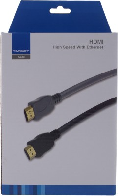 TARGET HDMI Cable 1.8 meters (TC018HD) HDMI Cable(Black)