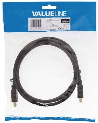 Valueline VGVP34000B15 HDMI Cable