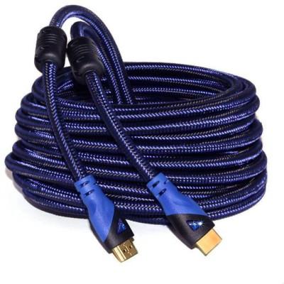 Microware HDMI Nylon Breaded 20 Meter HDMI Cable