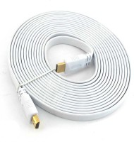 PAC 5 Meter FLAT HDMI Cable(White)