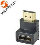 Wiretech HDMI Female to HDMI Male L Shap...