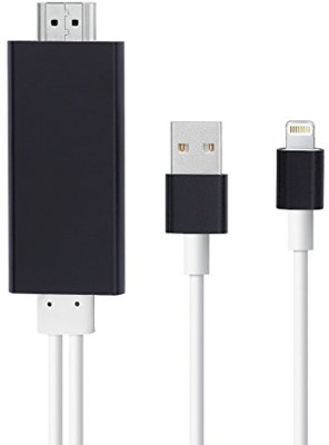 Real Deal iphone 6 HDMI BW HDMI Cable