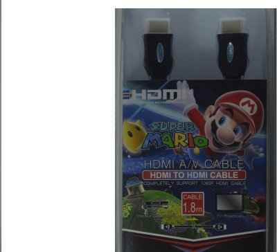 Smart Power A/V Cable For Super Mario Game HDMI Cable
