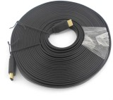PAC 10 Meter FLAT HDMI Cable (Black)