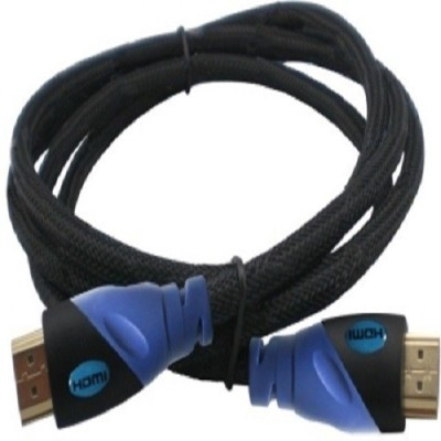 Karp 1.5 Gold Plated Nylon Breaded Cable-Black HDMI Cable