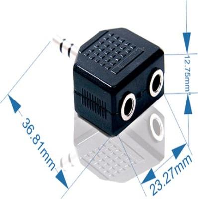 S.S.Retail 2 Port Splitter SS-150 Headphone Splitter