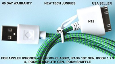 New Tech Junkies NE2832 Sync & Charge Cable