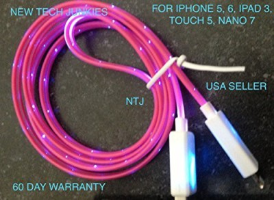 New Tech Junkies NE7932 Lightning Cable