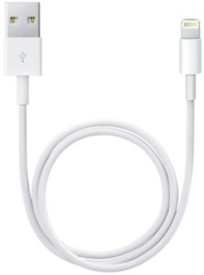 Apple MD819ZM/A Lightning to USB Cable (2 m) Lightning Cable