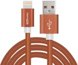 Portronics Turtle Lightning Cable (Brown...