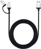 Just Mobile AluCable Duo 2-in-1 Lightnin...
