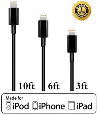 Kit IP5USBKEYBK Lightning Cable