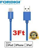 Fordigi 3220147 Lightning Cable (Blue)