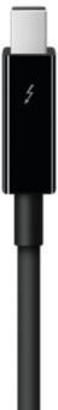 Apple Mf639zm/A Thunderbolt Network Cable(2.0 m) (Black)