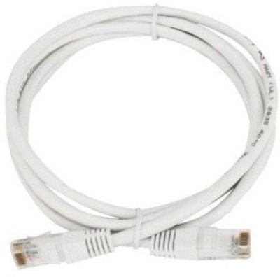 Tech Gear 1.5m Cat 5 Networking Lan Patch Cable(White)