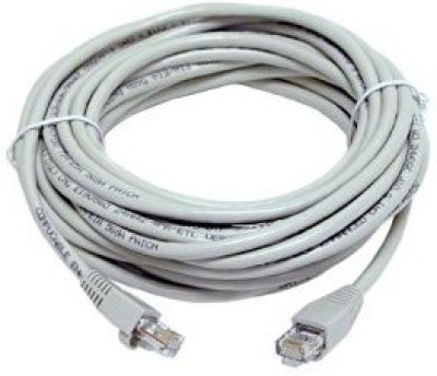 Tech Gear 15m Cat5 Networking Lan Patch Cable(White)