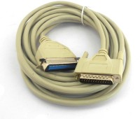 PAC 1.5 Meter LPT Printer Patch Cable(White)