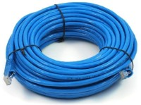 Iconnect-World RJ45 CAT6 Ethernet Lan Cord 10 Meter Patch Cable(Blue)