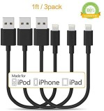 Kinps 3216406 Lightning Cable (Black)