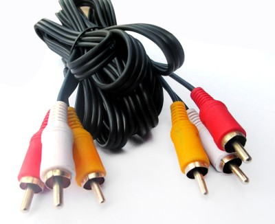 Ezzeshopping 3RCA-3RCA(3) RCA Audio Video Cable