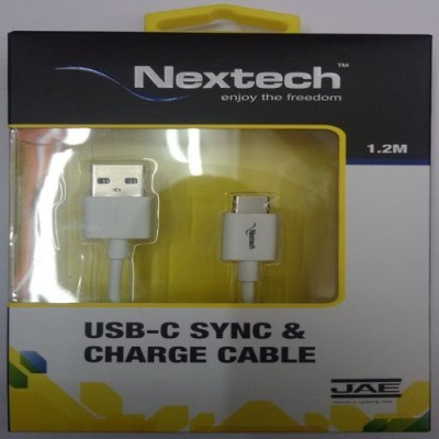Nextech NC69 USB -C Sync & Charge Cable white Sync & Charge Cable