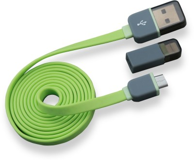 Crook Micro Usb data Cable For Android Mobiles And Hook Lightening Usb Adapter For Apple Devices Sync & Charge Cable