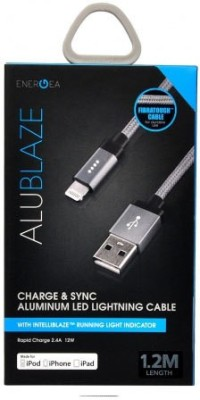 Energea Aluminum LED Lighting Sync & Charge Cable