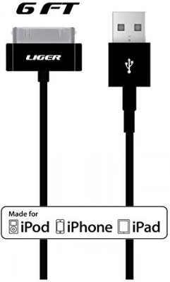 Liger MFI-6FT30P-BK Sync & Charge Cable